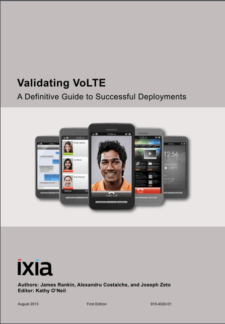 Validating VoLTE:  A definitive guide to successful deployments image