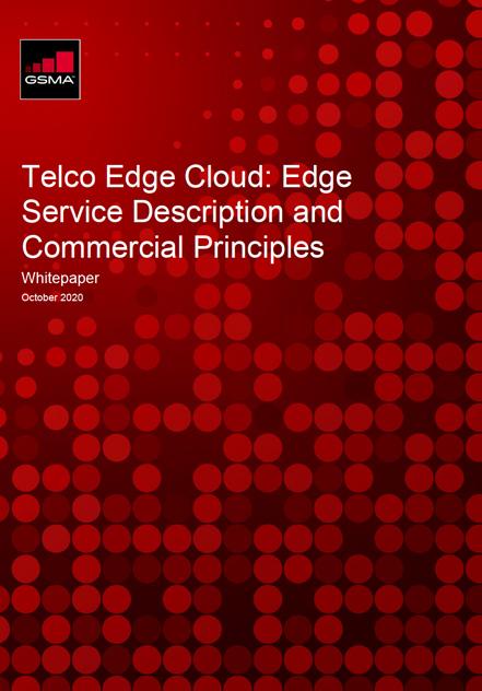 Telco Edge Cloud: Edge Service Description & Commercial Principles Whitepaper image