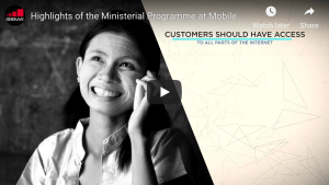 Highlights of the Ministerial Programme at Mobile World Congress 2016