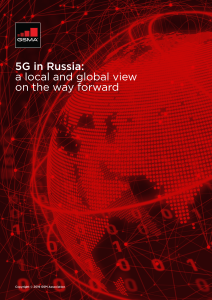 5G in Russia: a local and global view on the way forward image