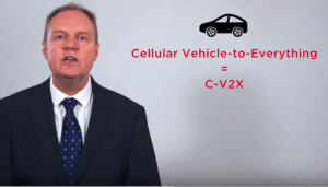 Connecting Vehicles with C-V2X