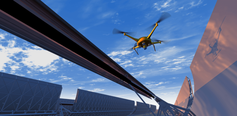 Case Study: Ground-to-Air LTE Communication Services for Industrial Drone Applications