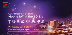 Presentation Decks: Mobile IoT Breakfast Briefing at CES2020 image