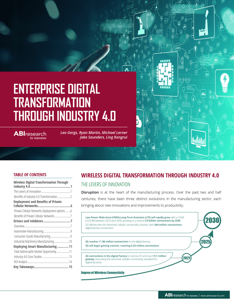 Nokia & ABI Research: Enterprise Digital Transformation Through Industry 4.0 image