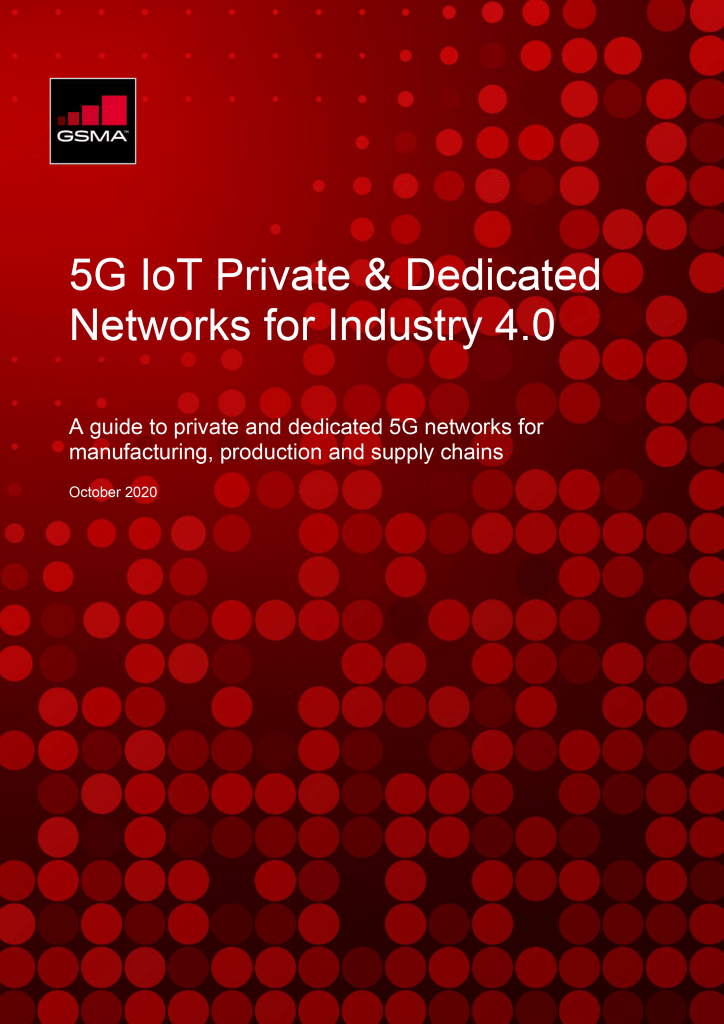5G Private & Dedicated Networks for Industry 4.0 image