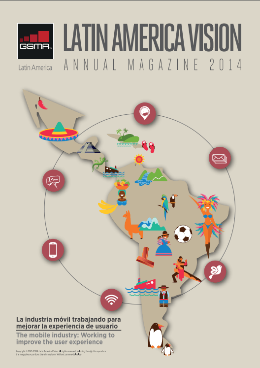 GSMA LA Vision Magazine 2013 – 2014 Edition image