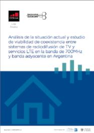 Estudo de coexistência entre serviços de banda larga LTE e a radiodifusão de TV na Argentina image