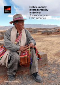 Interoperabilidade do dinheiro móvel na Bolívia – um estudo de caso para a América Latina image
