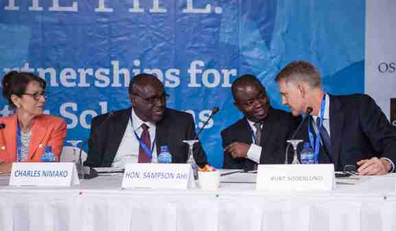 Safe Water Network Beyond the Pipe Forum Ghana 20162
