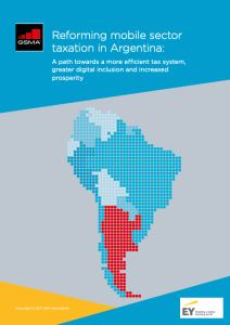 Reforming mobile sector taxation in Argentina: A path towards a more efficient tax system, greater digital inclusion and increased prosperity image