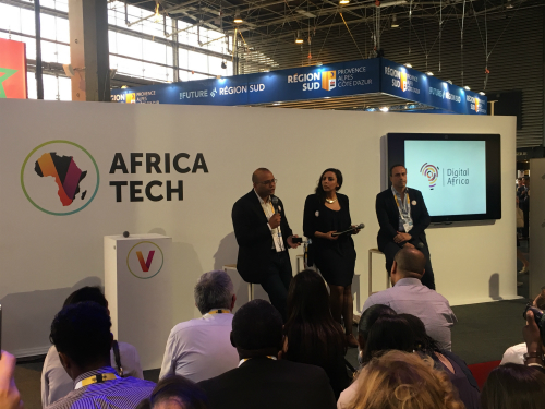 Our three takeaways from VivaTech's AfricaTech - Karim Sy presenting Digital Africa