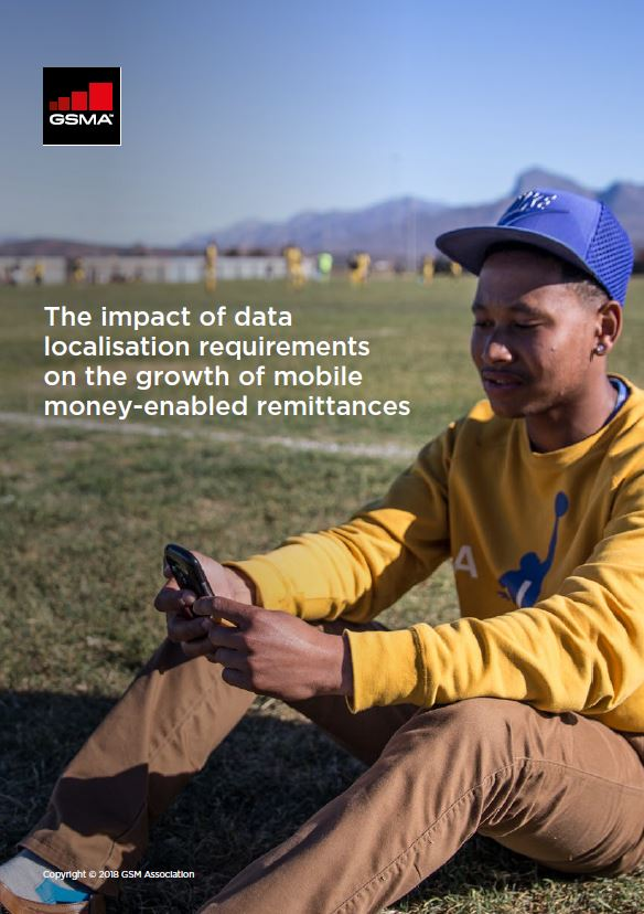 The impact of data localisation requirements on the growth of mobile money-enabled remittances image