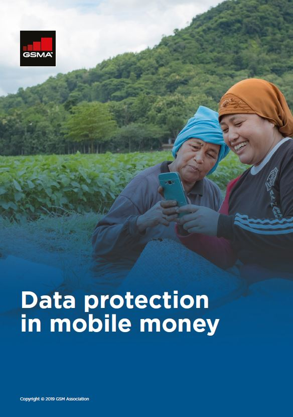 Data protection in mobile money image
