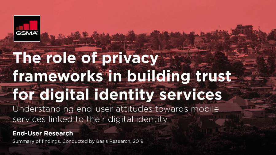 The role of privacy frameworks in building trust for digital identity services image