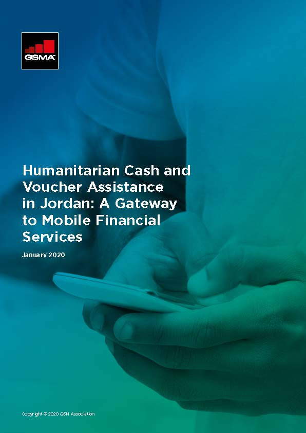Humanitarian Cash and Voucher Assistance in Jordan: A Gateway to Mobile Financial Services image
