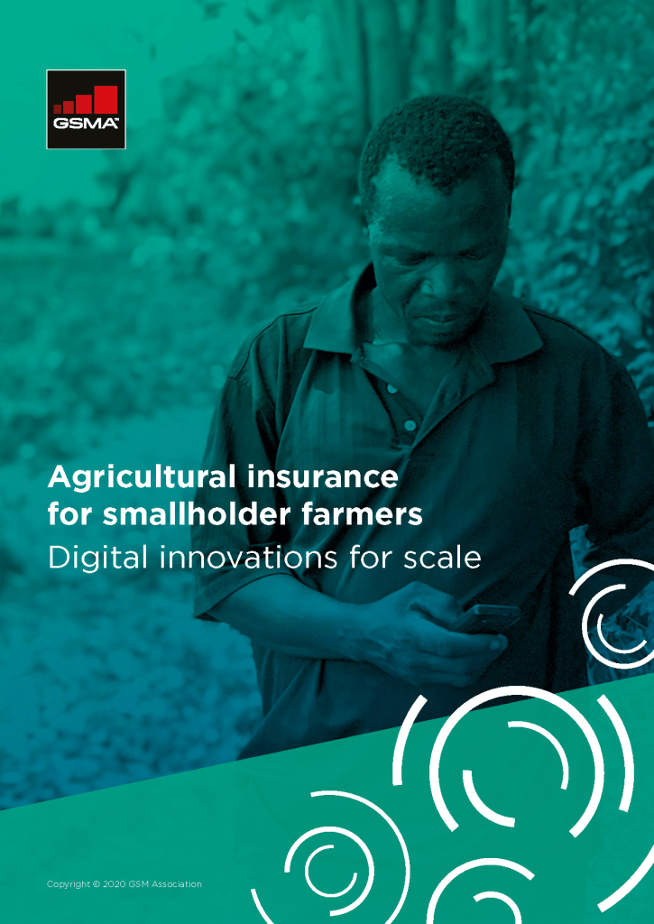 Agricultural insurance for smallholder farmers: Digital innovations for scale image