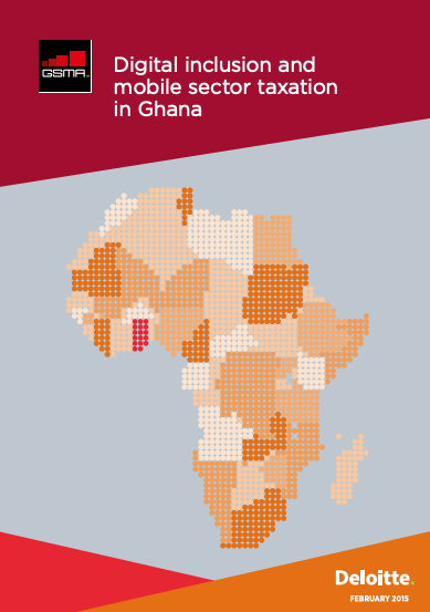 Digital inclusion and mobile sector taxation in Ghana image