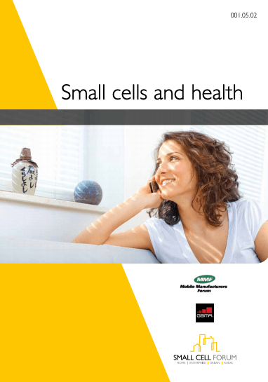 Small cells and health image