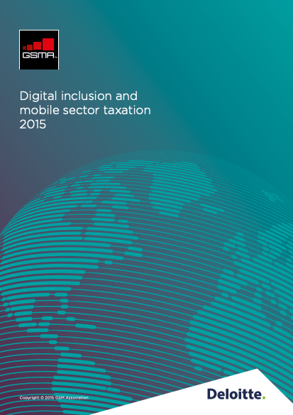 Digital inclusion and mobile sector taxation 2015 image