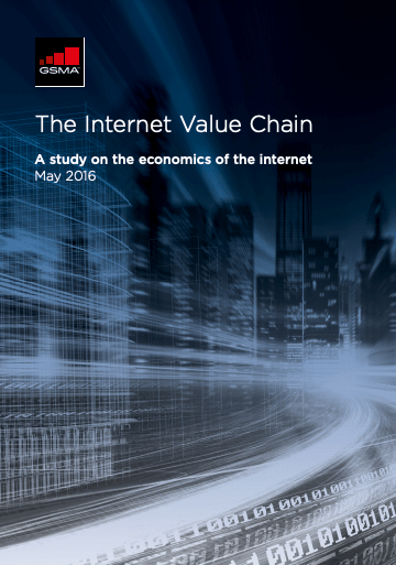 The Internet Value Chain: A study on the economics of the internet image