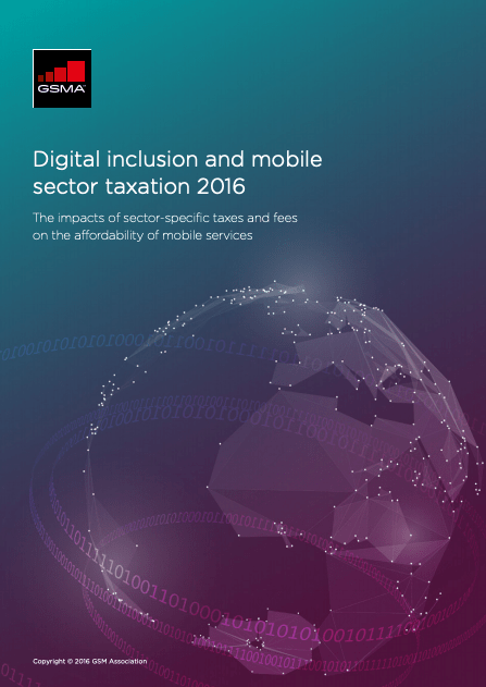 Digital inclusion and mobile sector taxation 2016 image