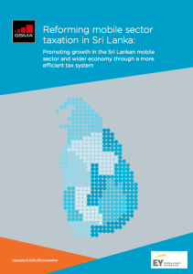 Reforming mobile sector taxation in Sri Lanka 2018 image