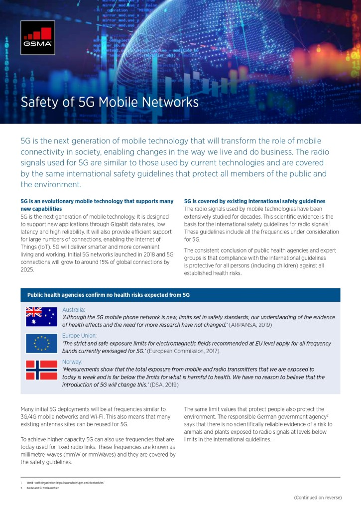 Safety of 5G Mobile Networks image
