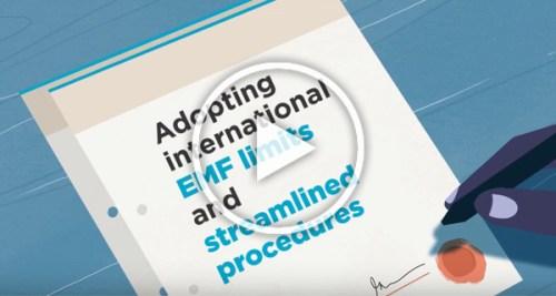 International EMF limits animated video