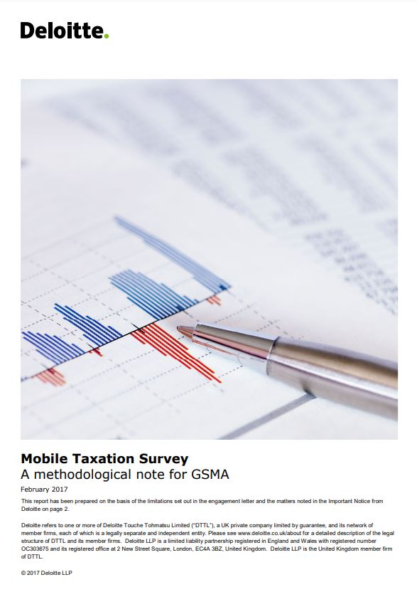 Mobile taxation survey: A methodology note Deloitte image