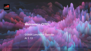 CPM19-2: CITEL lunchtime seminar on mmWave spectrum for 5G image