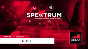 WRC-19: CITEL lunchtime seminar on mmWave spectrum for 5G image