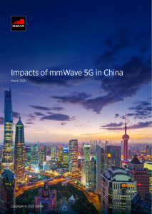 Focus on mmWave 5G in China image