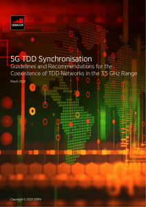 Synchronising the 3.5 GHz range – a key step for 5G success image