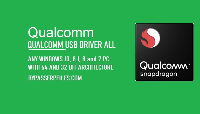 Qualcomm USB Drivers for Android 32bit & 64bit 2021