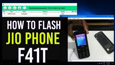 Photo of Jiophone F41T Flash File Free Download (2019 With guide)