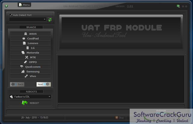 UAT FRP Tool V3.01