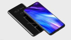 LG V40 ThinQ / fot. OnLeaks via Slashleaks