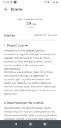 Huawei Zdrowie: analiza snu (4) - wychwytywanie drzemek