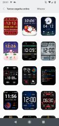 Xiaomi Amazfit GTS dostępne tarcze (2)