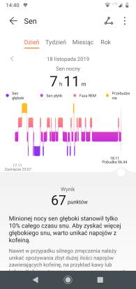 Huawei Zdrowie ekran głowny i przykładowe analizy (3)