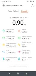 Huawei Watch GT2e: wyniki spaceru i tętno (4)