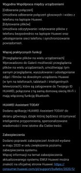 EMUI 10.1 dla Huawei P30 Pro / fot. gsmManiaK