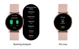Nowa aktualizacja Samsunga Galaxy Watch Active 2 dodaje monitorowanie biegania/fot. Samsung