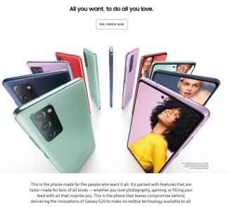 Samsung Galaxy S20 FE/fot. Sammobile