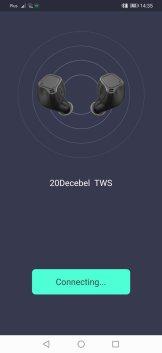 20DECEBEL Application: подключение наушников