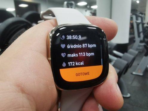 Fitbit: trening siłowy (14