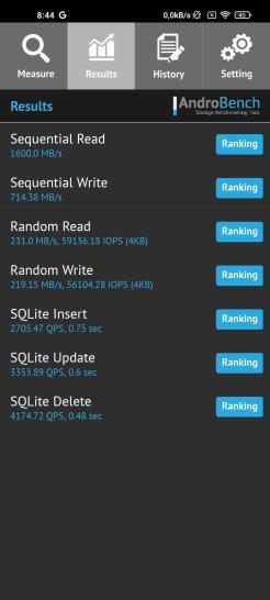 Test pamięci Xiaomi Mi 10T