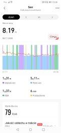 Zepp: wyniki analizy snu (1)