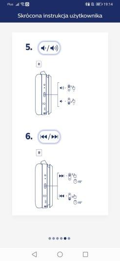 Philips Headphones sterowanie (5)