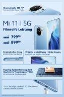 Cena Xiaomi Mi 11 podana przez niemiecki oddział